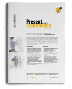 Present With Confidence 1-1 Topline