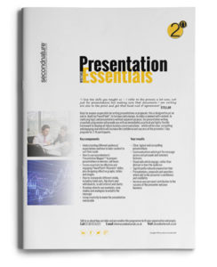 Presentation Writing Essentials - Topline
