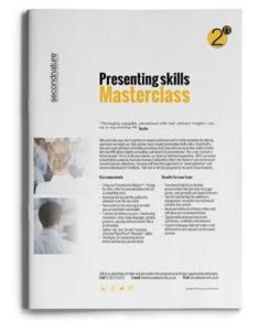 Presenting Skills Masterclass Topline