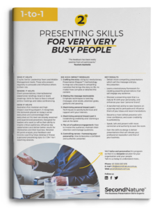 Presenting Skills for very very busy people topline