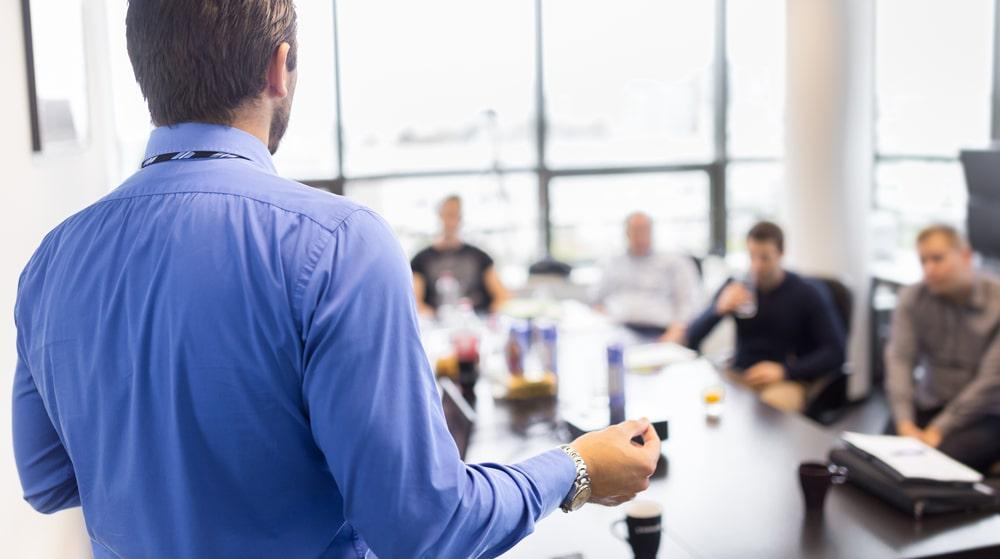 Presentation training workshop