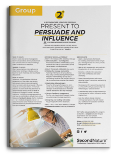 Present to Persuade and Influence topline