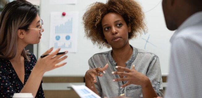 Improving business presentation skills