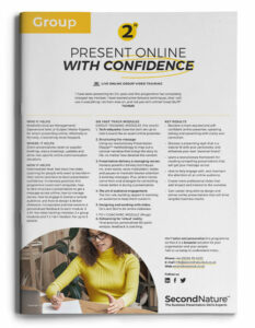 Present Online With Confidence topline