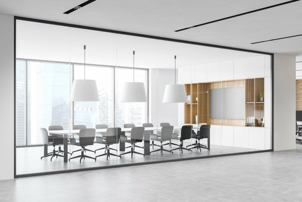 Early access to the room helps make group presentations more effective.
