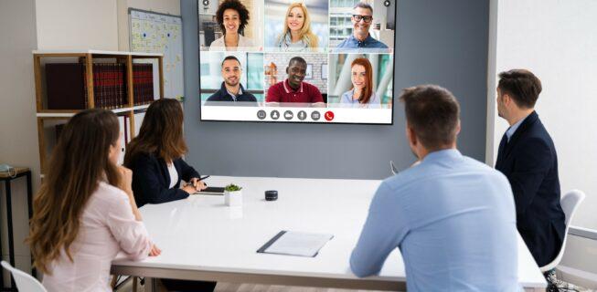hybrid meeting presentation
