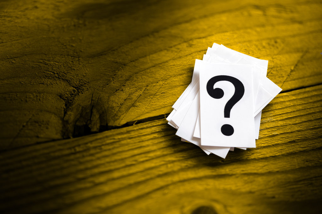 anticipate questions when presenting to senior management